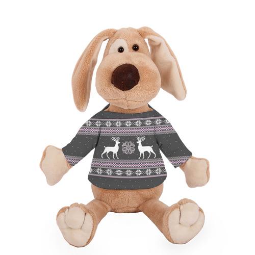 Собачка в футболке  Фото 01, Свитер с оленями