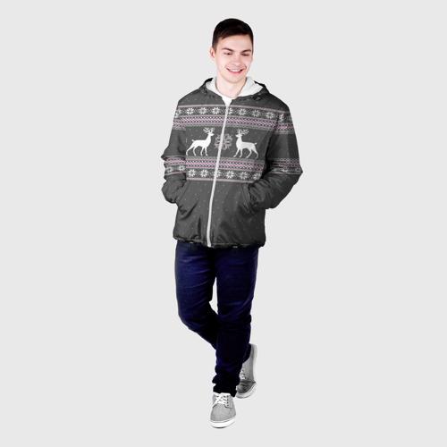 Мужская куртка 3D  Фото 03, Свитер с оленями