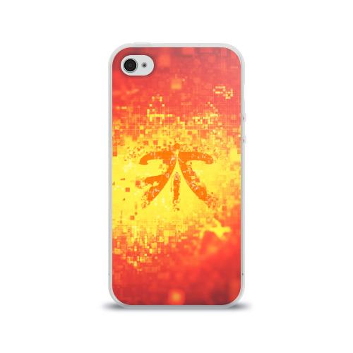 Чехол для Apple iPhone 4/4S силиконовый глянцевый  Фото 01, FNATIC CLOTHES COLLECTION