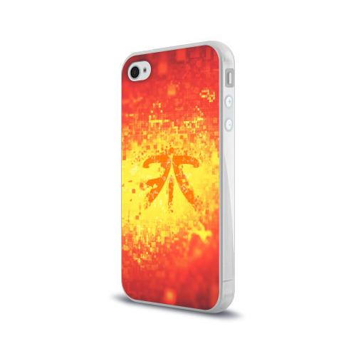 Чехол для Apple iPhone 4/4S силиконовый глянцевый  Фото 03, FNATIC CLOTHES COLLECTION