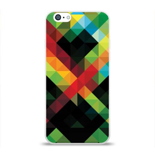 Чехол для Apple iPhone 6 силиконовый глянцевый  Фото 01, Гик