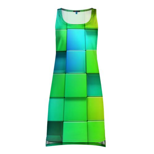 Платье-майка 3D Кубики