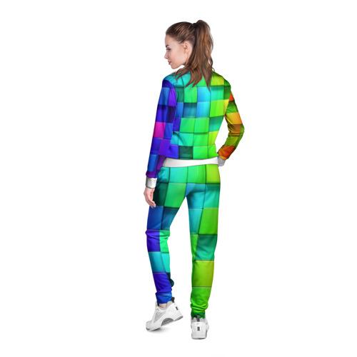 Женская олимпийка 3D  Фото 04, Кубики