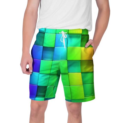 Мужские шорты 3D Кубики