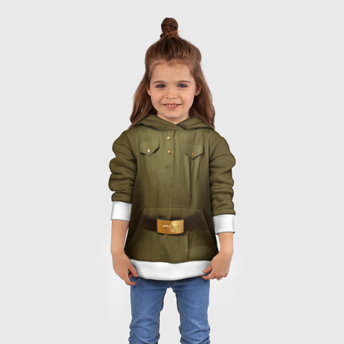 Детская толстовка 3D Солдатская форма