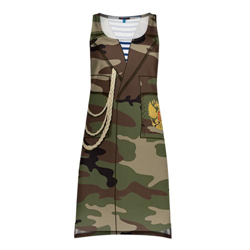 Платье-майка 3D Армейская форма