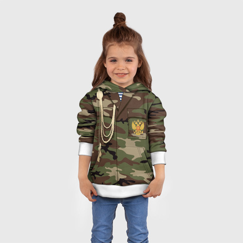 Детская толстовка 3D Армейская форма