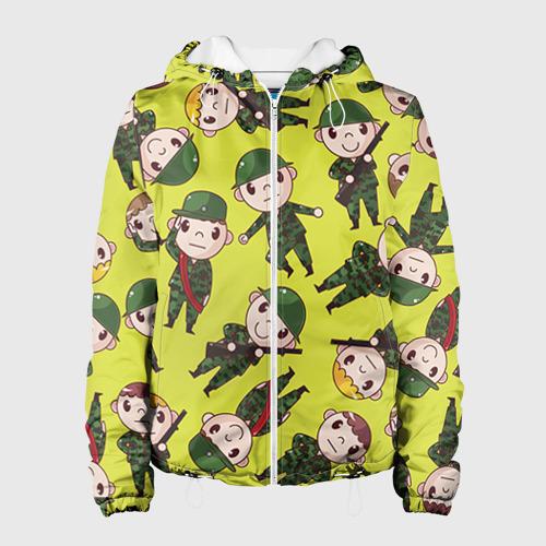 Женская куртка 3D  Фото 01, Солдатики