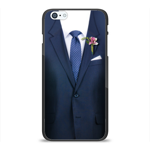 Чехол для Apple iPhone 6/6S Plus силиконовый глянцевый Жених от Всемайки