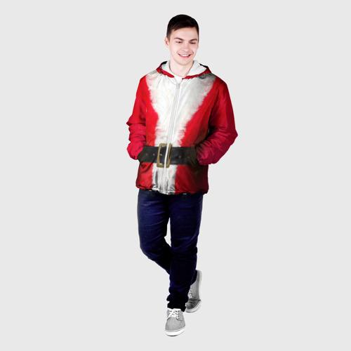 Мужская куртка 3D  Фото 03, Дед мороз