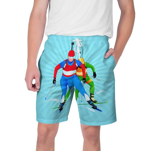 Мужские шорты 3D Биатлон