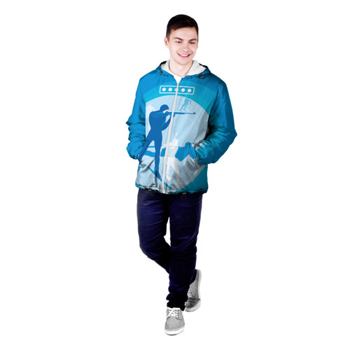 Мужская куртка 3D  Фото 03, Биатлон