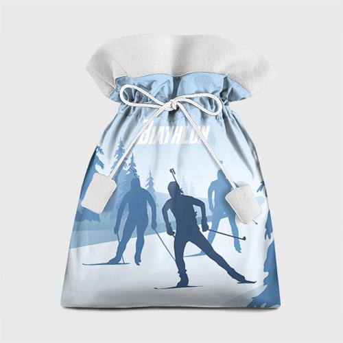 Подарочный 3D мешок Биатлон