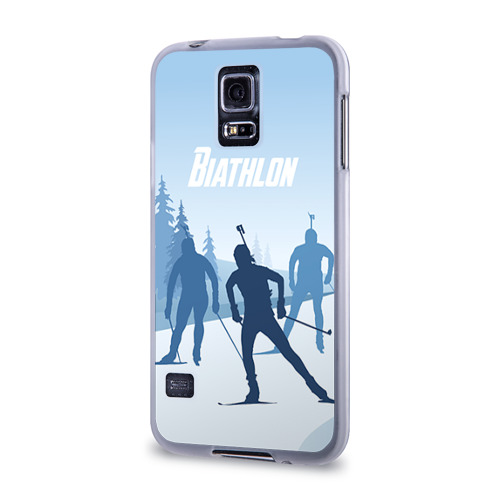 Чехол для Samsung Galaxy S5 силиконовый  Фото 03, Биатлон