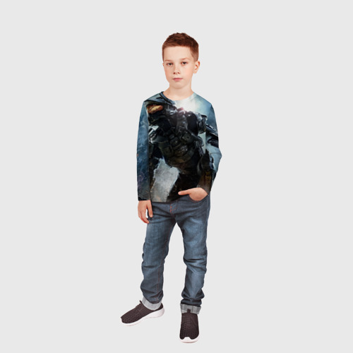 Детский лонгслив 3D  Фото 05, Halo