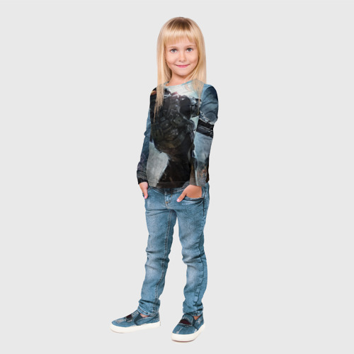 Детский лонгслив 3D  Фото 04, Halo