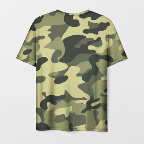 Мужская футболка 3D Камуфляж Хаки Фото 01