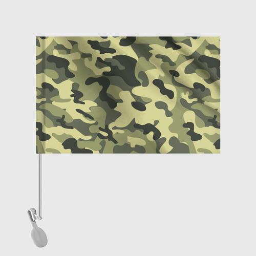 Флаг для автомобиля Камуфляж Хаки Фото 01