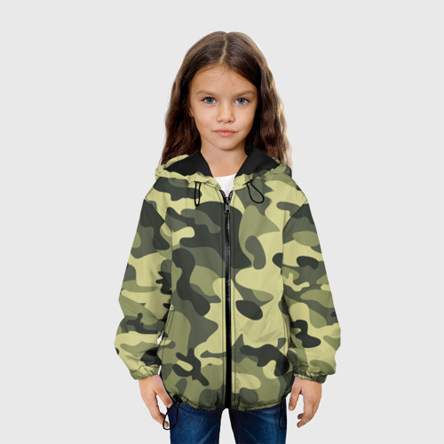 Детская куртка 3D Камуфляж Хаки Фото 01