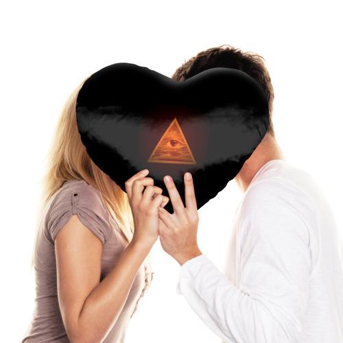 Подушка 3D сердце  Фото 03, Пирамида