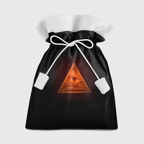Подарочный 3D мешок Пирамида