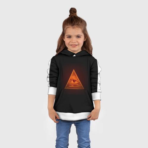 Детская толстовка 3D Пирамида
