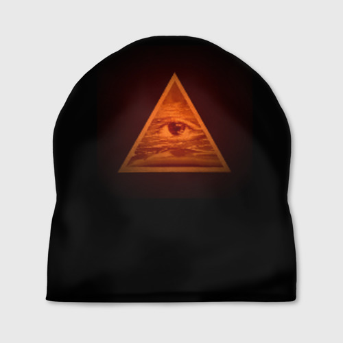 Шапка 3D Пирамида