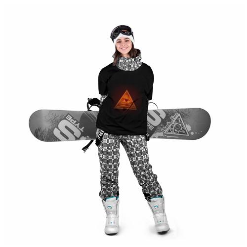 Накидка на куртку 3D Пирамида Фото 01