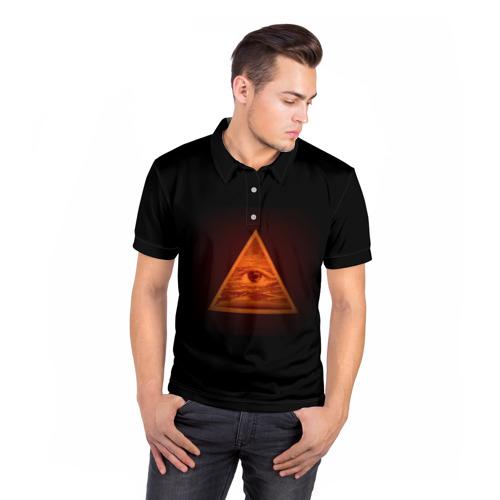 Мужская рубашка поло 3D  Фото 05, Пирамида