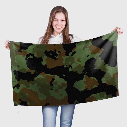 Флаг 3D  Фото 01, Камуфляж Вельветовый эффект