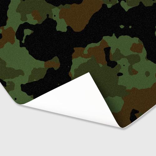 Бумага для упаковки 3D Камуфляж Вельветовый эффект Фото 01
