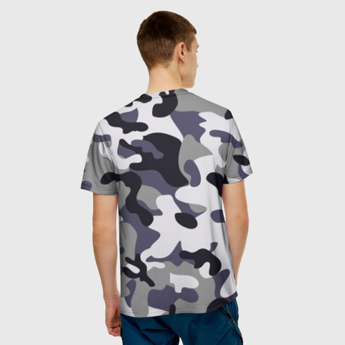 Мужская футболка 3D Городской камуфляж Фото 01