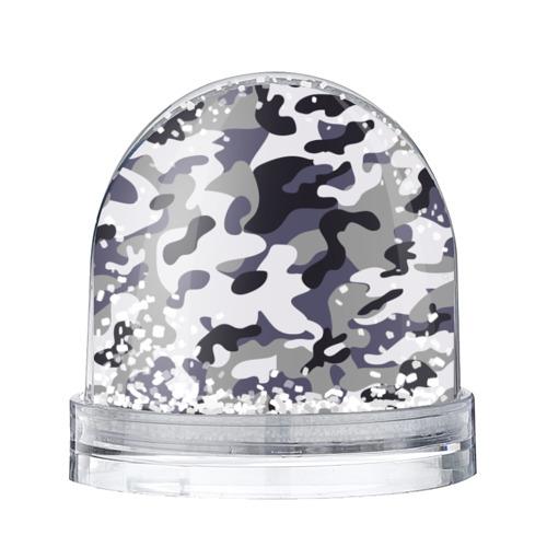 Водяной шар со снегом Городской камуфляж