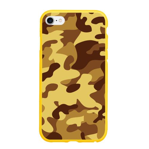 Чехол для iPhone 6/6S матовый Пустынный камуфляж Фото 01