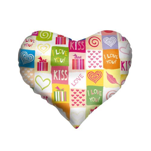 Подушка 3D сердце  Фото 01, Love