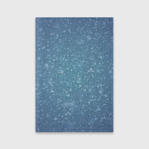 Обложка для паспорта матовая кожа  Фото 01, Снег
