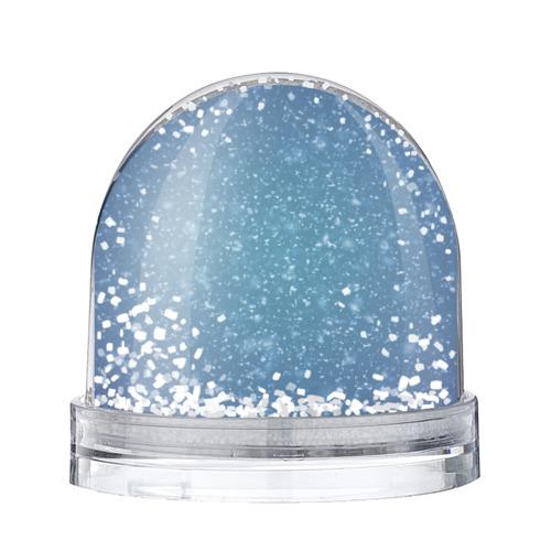 Водяной шар со снегом Снег