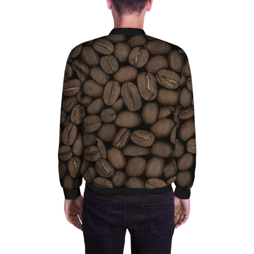 Мужской бомбер 3D  Фото 04, Кофе