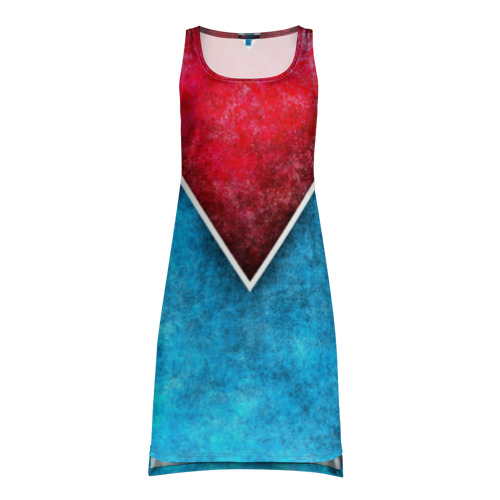 Платье-майка 3D Grunge