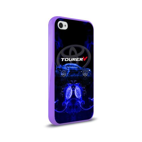 Чехол для Apple iPhone 4/4S силиконовый глянцевый  Фото 02, Toyota chaser