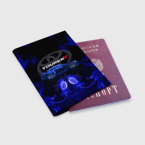Обложка для паспорта матовая кожа  Фото 03, Toyota chaser