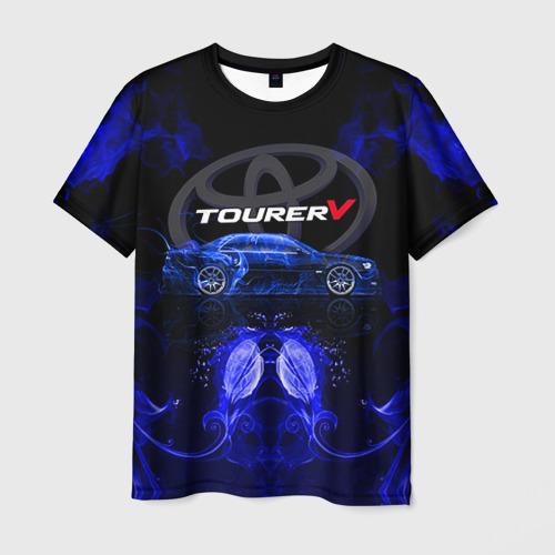 Мужская футболка 3D Toyota chaser от Всемайки