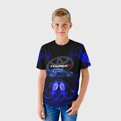 Детская футболка 3D Toyota chaser