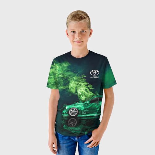 Детская футболка 3D Toyota Altezza