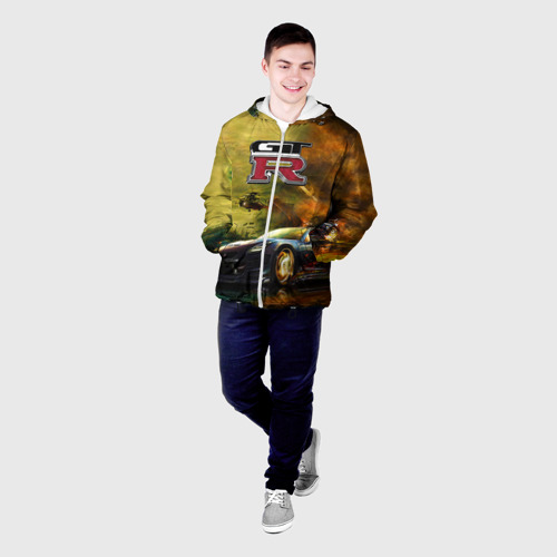 Мужская куртка 3D  Фото 03, Nissan GTR