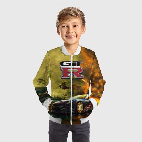 Детский бомбер 3D  Фото 05, Nissan GTR
