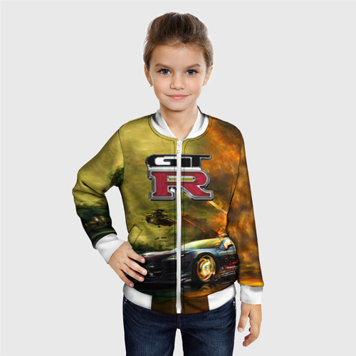 Детский бомбер 3D  Фото 06, Nissan GTR