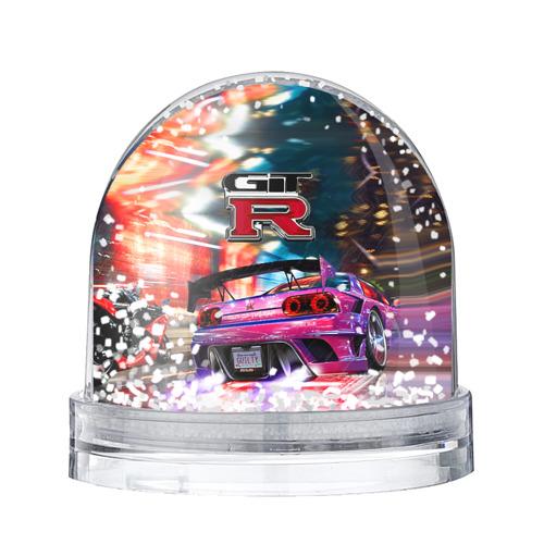 Водяной шар со снегом Nissan GTR
