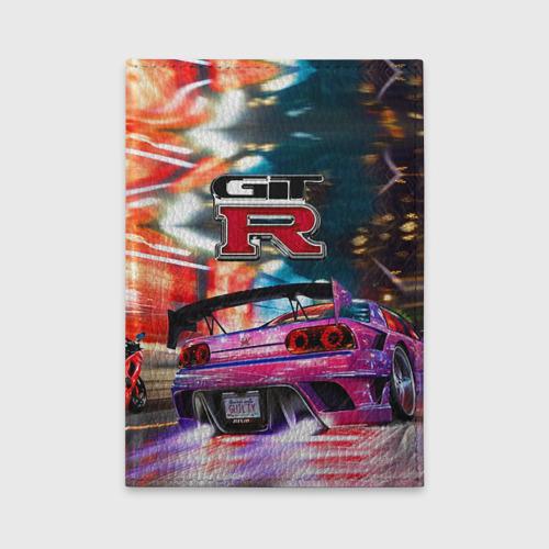 Обложка для автодокументов Nissan GTR Фото 01