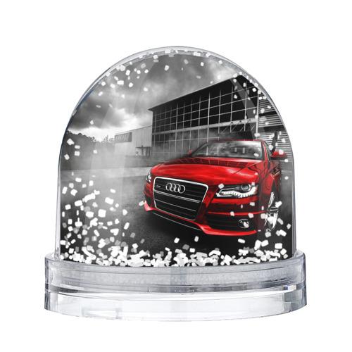 Водяной шар со снегом Audi